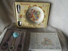 Baby Lot -Silverplate Oneida, Bunnykins & Brag Book