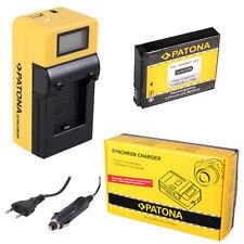 Batteria Patona + caricabatteria Synchron LCD USB per GoPro HD HERO NAKED