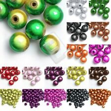 Acrylic Miracle Spacer Round Beads Loose Jewelry Findings 4/6/8/10/12mm Lots