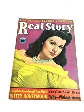 REAL STORY BOOK VNTG LOVE & ROMANCE SPICY PULP MAGAZINE november 1942