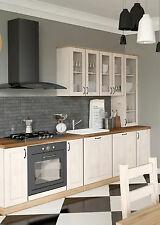 Küche / Küchenzeile / Küchenblock / Nordische Kiefer - Wildeiche / NEU
