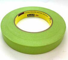 3M™ Scotch® 233+ Performance Cinta Adhesiva Enmascarar Verde, 18mm x 55m