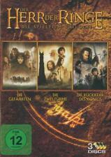 Der Herr der Ringe - Komplettbox, Die Spielfilm Trilogie Teil 1+2+3 - 3 DVDs