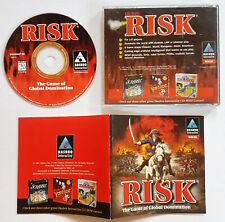 Risk (PC, 1997) VINTAGE VIDEO GAME BASED ON Strategy Board Game ORIGINAL