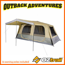 OZTRAIL FAST FRAME TOURER 420 FULL FLY INSTANT UP QUICK PITCH 8 PERSON TENT