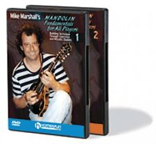 Mike Marshall's Mandolin Fundamentals for All Players Two-DVD Set DVD  000642054