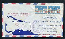 Nederlandse Antillen VOORLOPER FDC V02 _ 03M, met adres ;