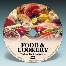 FOOD, COOKERY & RECIPE BOOKS - 140 Vintage Books on DVD!
