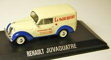 RENAULT JUVAQUATRE NOREV 1/43 LA VACHE QUI RIT JUVA 4 - VOITURE MINIATURE 519107