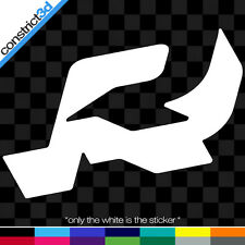 """(2x) RIDE 5"""" VINYL DECALS  * ANY COLOR     snowboard snow shred snowboarding dc"""