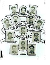 1903 KANSAS CITY BLUE STOCKINGS WESTERN LEAGUE CHAMPIONS 8X10 TEAM PHOTO