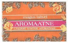 1970s USSR Russia Estonia Vintage Chocolate Wrapper AROMATIC Sweet Choco Bars