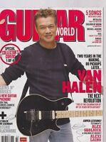 FEB 2009 GUITAR WORLD vintage music magazine EDDIE VAN HALEN