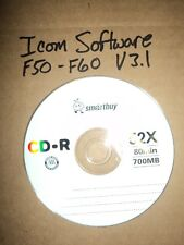 Icom CS-F50 for IC-F50/IC-F60/IC-F51/IC-F61 programming software Version 3.1