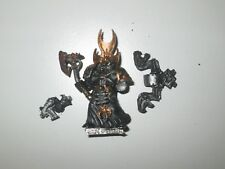 Warhammer 40K Chaos Space Marine Sorceror metal OOP
