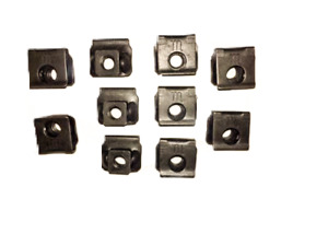 1963-1964 Corvette Grille U-Nuts - 10 Pack - New - Special Correct 3831934