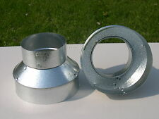 """3"""" to 4"""" - 3""""x4"""" Stove Pipe Reducer"""