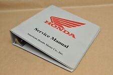 "Vintage Honda Motorcycle 2 1/2"" 7 Ring Shop Repair Service Manual Binder Only"