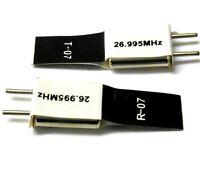 RC Remote Control 27 MHZ 26.995 FM Crystal TX & RX