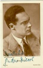 Gustav Diessl Ross 5415/1  signiert, Autogramm
