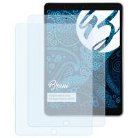 Bruni 2x Folie für Apple iPad Air (2019) Schutzfolie Displayschutzfolie