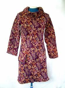 5 colour COWL Fleece JUMPER Dress HIPPY Pixie FESTIVAL XS, S, M, L, UK Seller
