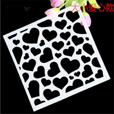 Love Pattern Stencil for art craft spray cake and Home decor