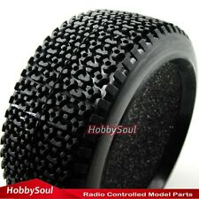 4pcs RC 1/8 Off-road Buggy Tires Tyres & foam Fit RC 1:8 Buggy Hex 17mm Wheel