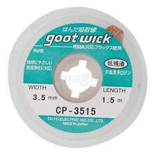 New Goot Desoldering Wick Solder Remove Wick 1.5m 3.5mm Solder Cable Wick Copper