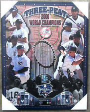 New York Yankees 2000 World Series Championship Picture Plaque (Subway Series)