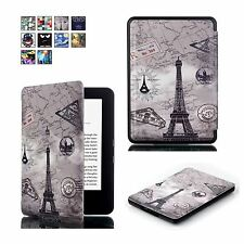 Hülle für Amazon New Kindle 2016 eBook Cover Tasche hülle Case Etui Skin L274