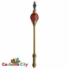 Adults Kings Queens Prop Sceptre Royal Fancy Dress Party Costume Accessory