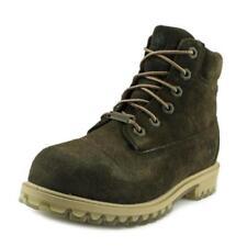 Chaussures larges en daim pour garçon de 2 à 16 ans