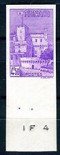 Monaco - N° Yvert 259 neuf avec trace de charnière.Non dentelé , gomme d'origine