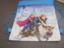 frozen Drawstring  print bag For Swimming,School and Gym - UK SELLER