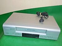 PHILIPS VR540 Video Cassette Recorder VHS Smart VCR Silver Quality Slim
