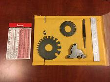 Vintage Starett Tools 6 Pcs. Pitch Gauge & More