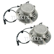 Pair Set of 2 Front Timken Wheel Bearing and Hub Kit for Ram 1500 2500 3500 RWD