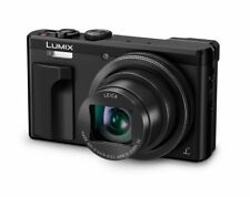 PANASONIC LUMIX DMC-TZ80EB-K DIGITAL CAMERA, BLACK, NEW, 4K VIDEO 18.1MP