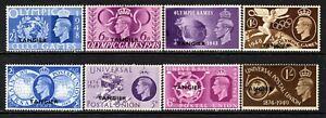 Tangier KGVI  1948 Olympic Games Set & 1949 UPU Set SG257-60 & 276-79 M/Mint