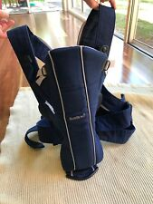 Baby Bjorn Baby Carrier - Blue, Good Used Condition