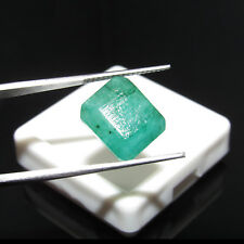 6.05Cts Certified 100% Natural Cut Colombian Emerald Unheated Gemstone CH 7180