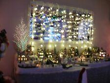 Multi Function white Christmas Net/Curtain Window Lights