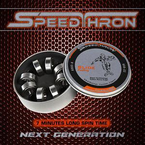 SpeedThron ABEC 9 608 ZZ  7 Minuten Kugellager Slide Feeling Nanotechnologie TOP
