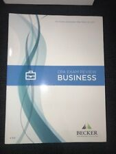 BECKER CPA exam review BEC Business Book Volume 3.0 March 31, 2017 (no access)