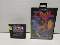 Zool Ninja Sega Mega Drive Genesis Complete in Box CIB European PAL (No Manual)