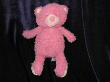 """Animal Adventure Pink Kitty Cat Kitten Baby Plush Stuffed Shaggy Toy 10"""" 2014"""