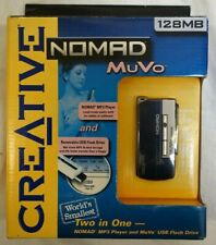 Creative Nomad MuVo Silver/Black ( 128 MB ) Digital Media Player