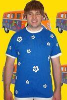 277✪ selfmade Prilblumen Herren Shirt Vintage Kult Retro 70er Jahre Gr XL