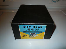 Oster Stim-U-Lax Junior Home Massage Instrument Model No.4 with Paperwork & Box